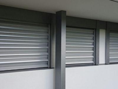 Einbruchshemmende Store Rolllladen Stobag FL Secure