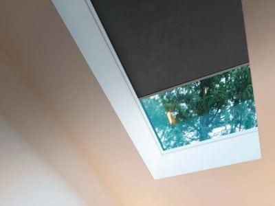 Harol Zip Systeme eignen sich auch für Dachfenster.
