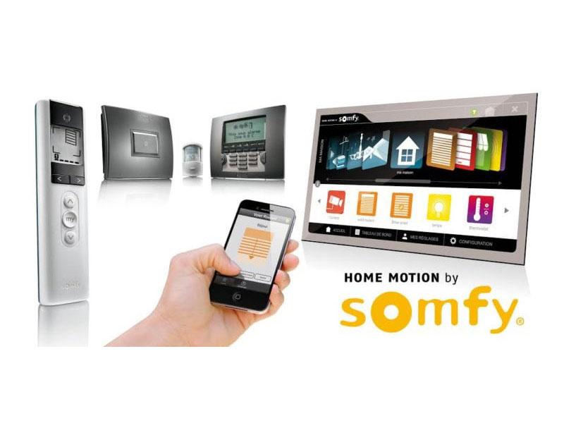 SOMFY – Automatisierte Storen & Rollläden