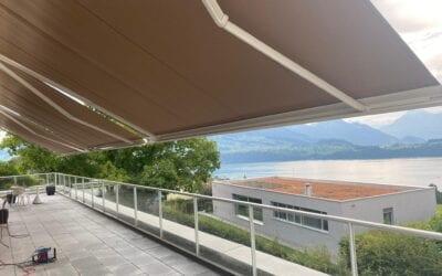Windfeste Storen bis 25 km/h | Referenz Stobag Tendabox